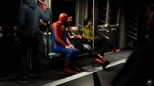 偽スパイダーマンと
