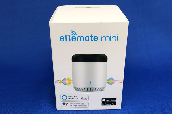 eRemote miniのパッケージ