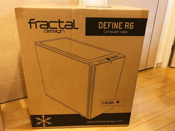 DefineR6のパッケージ