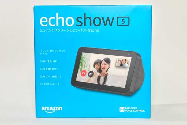 Echo Show5のパッケージ