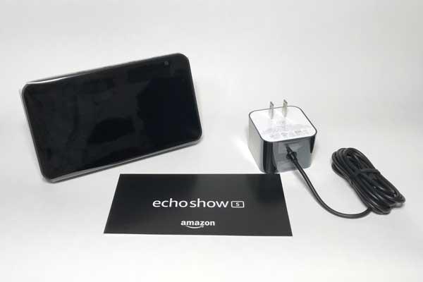 Echo Show5のパッケージ内容
